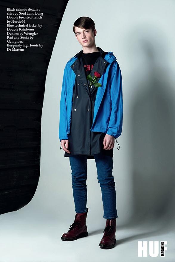 Guys' N Roses - HUF Magazine image