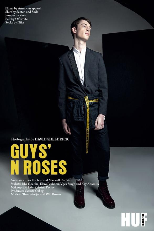 Guys' N Roses – HUF Magazine